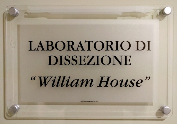 """William House"" anatomical dissection laboratory"
